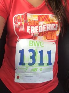 Reppin' the Frederick 5k