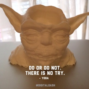 Listen to Yoda, you must!