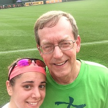 Me and Dad @ OPACY!!